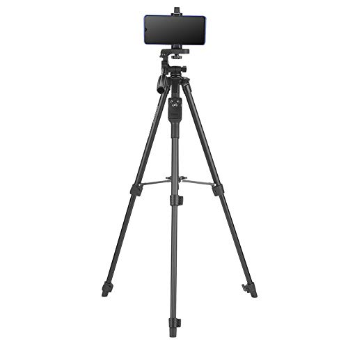 Telefoonstatief, uitschuifbare draadloze afstandsbediening Smartphone Videostatief Handheld Selfie Stick-statief voor DSLR-camera, smartphone, projector, enz.
