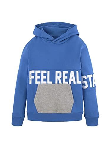 TOM TAILOR Jungen Sweatshirt T-Shirt, Strong Blue Blue, 140