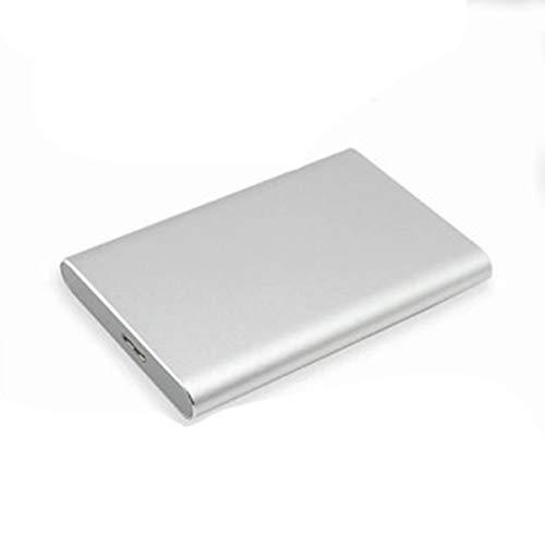 VDSOIUTYHFV Ultra Slim Disco Duro Externo Portátil 2.5' 1TB, USB3.0 HDD Almacenamiento para PC, Chromebook Windows