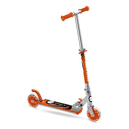 Mondo Toys - Patinete de Aluminio para niñas Mondo PW 120 - Manillar Ajustable - 2 Ruedas - 28009