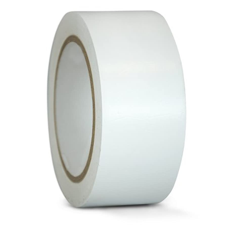 GGR Supplies T.R.U. CVT-536 White Vinyl Pinstriping Dance Floor Tape: 2 in. wide x 36 yds. Several Colors