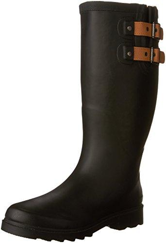 Hot Sale Chooka Women's Top Solid Rain Boot,Black,7 M US