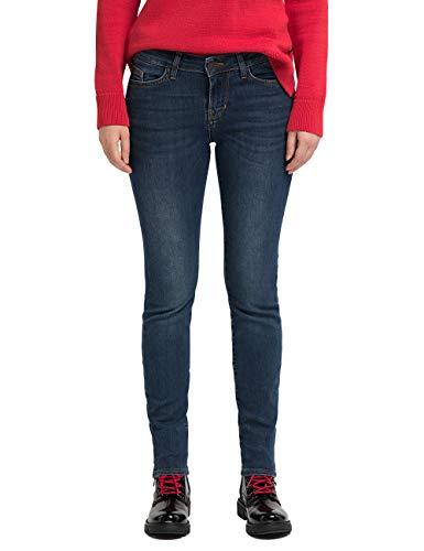 MUSTANG Damen Slim Fit Caro Jeans, Blau (Dark 802), Gr.- 28W / 30L