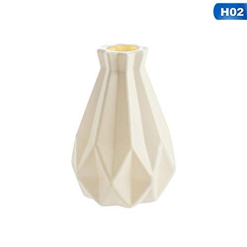 NA vaas stijl kunststof vaas imitatie keramiek bloempot bloemenmand bloemenvaas Home woonkamer decoratie
