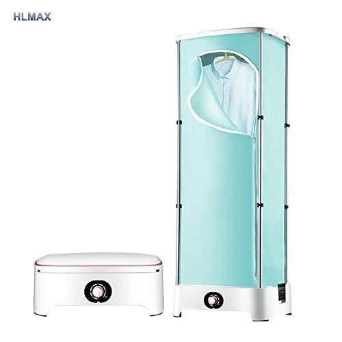 HLMAX Wäschetrockner Tragbarer Elektrischer 10 Kg Kapazität Falttrockner Aluminiumlegierung Schnell Trocknender Energie Sparen Mit Zeitschaltuhr