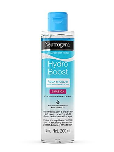 Neutrogena Hydro Boost Água Micelar Bifásica 200ml, Neutrogena