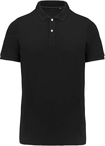 Kariban Polo Supima® Manches Courtes Homme - Noir, 3XL, Homme