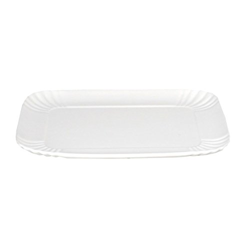 Plat de service rectangulaire Blanc Estetico Quotidiano 27x18,5cm