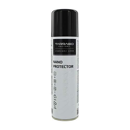 Tarrago | Sneakers Nano Protector 250 ml | Spray Impermeabilizante y Repelente a la Suciedad | Apto para Todos los Colores y Todo Tipo de Cueros, Ante, Nubuck y Fibras Transpirables