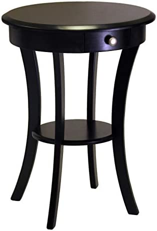 Best Winsome Wood Sasha Accent Table, Black