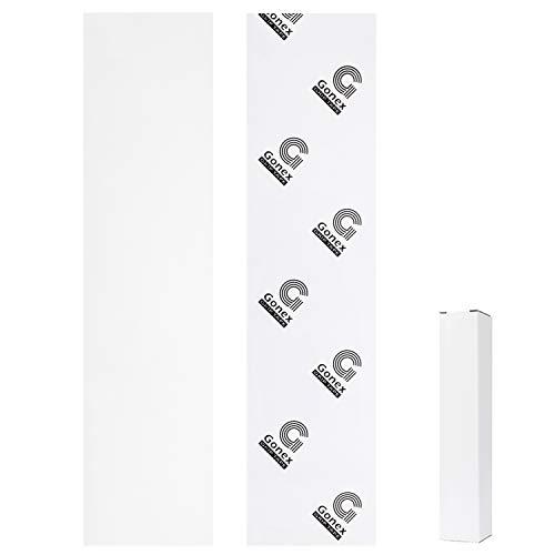 Gonex Skateboard Griptape 110 x 26 cm, blasenfrei mit Schleifpapier für Roller Skate Treppen Pedal