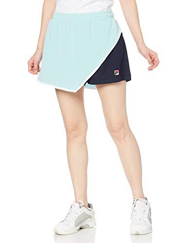[フィラ テニス] テニスハーフパンツ キュロットパンツ VL2295 レディース ミントグリーン M