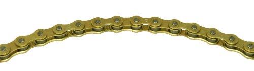 KMC Chain Z510 Cadena Ancha, Unisex Adulto, Oro, 112 eslabones
