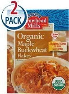 Arrowhead Mills Gluten-Free Organic Maple Buckwheat Flakes - 10 oz - 2 Pack