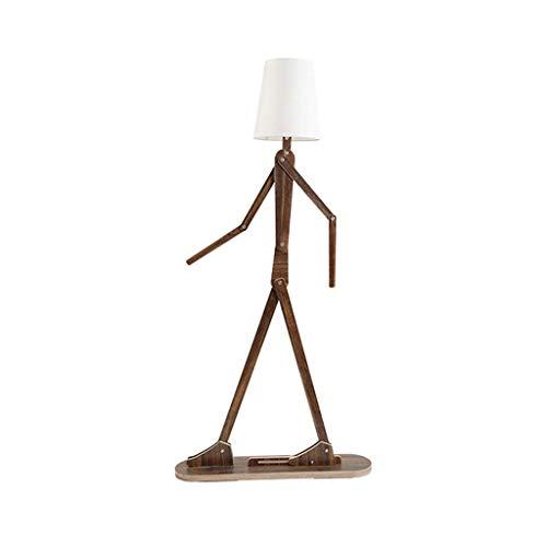LAMP Stehlampe, Inneneinrichtung, Stehende Lesung Led Nordic-Style Menschen Form Stehlampen Schlafzimmer Wohnzimmer Kinder \'s Zimmer Led Lampe Tischlampe Design,Ein