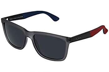 Floats Polarized F-4251 Sunglasses Polarized Unisex Square plastic rubber frame two tone with non-slip temples UV Protection