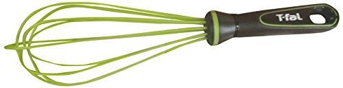 T-fal Ingenio Silicone Balloon Whisk, 12', Green/Black
