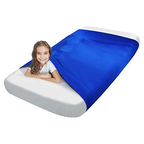 CHICTI Sensorischen Bett Blatt Beste Alternative Zu Gewichteten Decken Gewichtsdecke Hilft Gegen SDP Angstzustände ADHD Autismus Usw (Size : 98x147cm/39x58in)