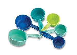 Nordic Ware Bundt Measuring Cups, Set of 6, Coastal Colors