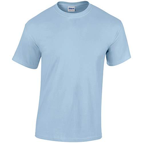 Gildan Kinder schweres T-Shirt hellblau S (GD05B)