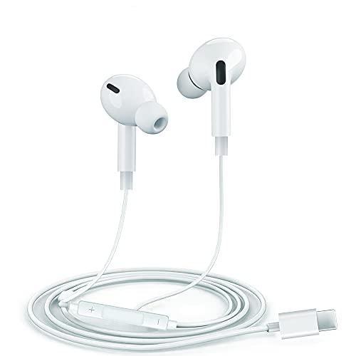 In-Ear-Kopfhörer, HiFi-Stereo-Kopfhörer mit eingebautem Mikrofon und Lautstärkeregler, Kopfhörer mit Bluetooth-Kabel, Anschlussfunktion, Kopfhörer für iPhone 12 Pro/Mini/SE/11/11 Pro/XS/XR. /8/7