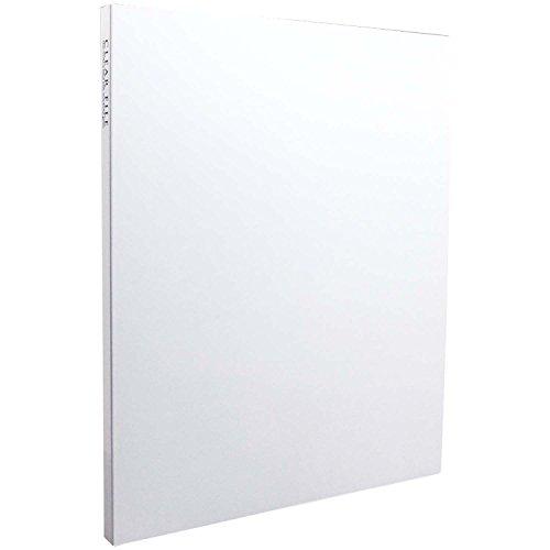 SEKISEI アルバム ポケット クリヤーファイル 高透明 A4-S 20ポケット A4 21~50枚 ホワイト KP-2512