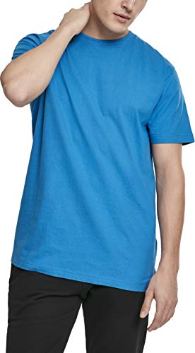 Urban Classics Herren Basic Tee T-Shirt, Blau (Hawaiianblue 01690), XXX-Large (Herstellergröße: 3XL)