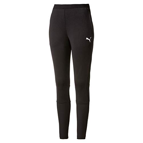 PUMA Liga Training Pants Chándal, Mujer, Negro (Black/White), M