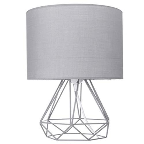 Elegant Tischlampe, Geometrische Beistelltisch Lampe, Weinlese Home Creative Thanksgiving Weihnachten Neuheit Schlafzimmer Wohnzimmer-Lampe Freizeit (Lampshade Color : Type 1)
