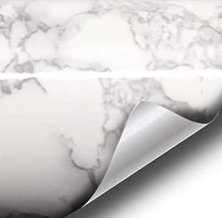 VViViD XPO White Grey Marble Gloss Vinyl Film Contact Paper 16