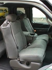 Durafit Seat Covers, Made to fit 2001-2003 F150 Xcab Front and Back Seat Set....