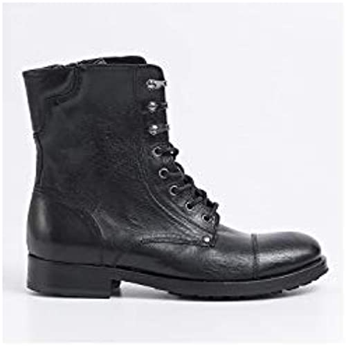 PAWELKS - Military Stiefel in schwarz Leather - 16104CALIF schwarz Rock
