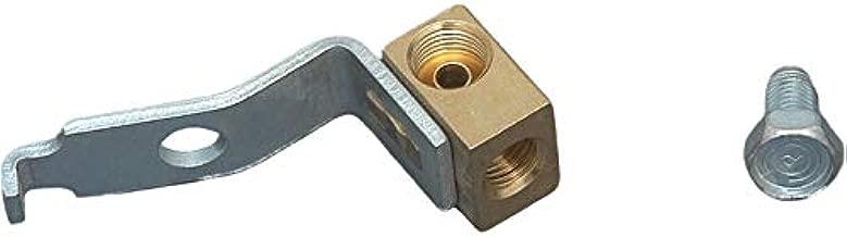 Eckler's Premier Quality Products 57132432 Chevy Brake Line Junction Brass Block Left Front
