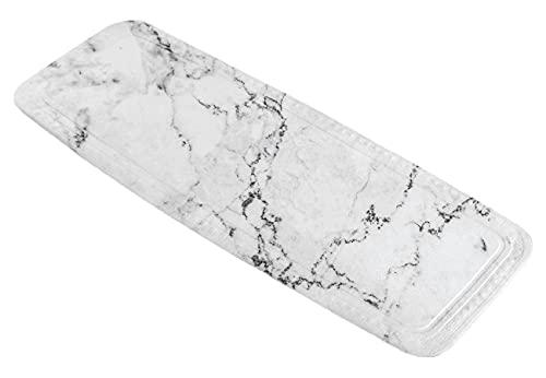 Kleine Wolke Marble, PVC Schaum, Anthrazit, Wanneneinlage, 4004478268135