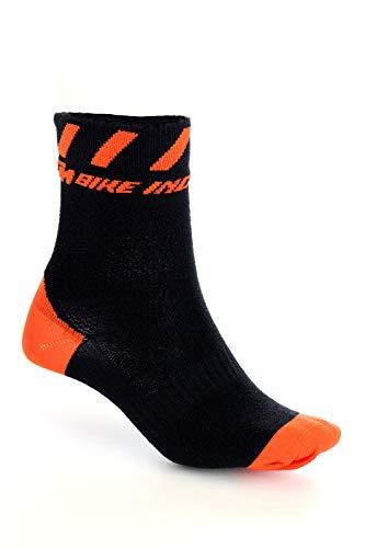 KTM Socken Factory Line 2021 Schwarz/Orange. 40-43