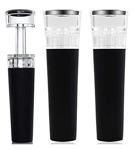 Cuina 3 PCS tapón de Botella de tapón de champán Botella de Aire Bomba de Aire tapón de tapón de vacío Sellado Ahorro de Barras Accesorios Accesorios de Vino Yuechuang