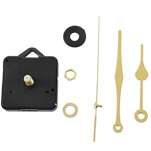 LQNB Ersatz Gold Uhrwerk Zubehoe r/Ersatzteile Zeiger Quarzuhrwerk Uhr