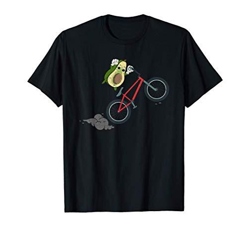 Bicicletta Ciclista Vegetariano Dieta Chetogenica Avocado Maglietta