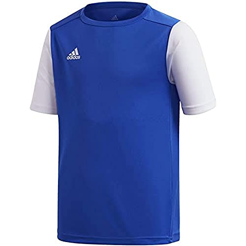 adidas Estro 19 Jsyy Camiseta de Manga Corta, Niños, Bold Blue, 910Y
