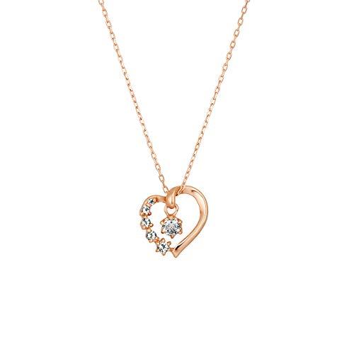 [[カナルヨンドシー] Canal 4℃] ダイアモンド ローズゴールド クリスマス限定 K10ピンクゴールド ネックレス 152046623101 ピンクゴールド