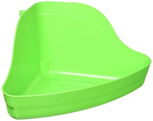 Kaytee High Corner Litter Pan, for Ferrets, Rabbits, Guinea Pigs, Medium...