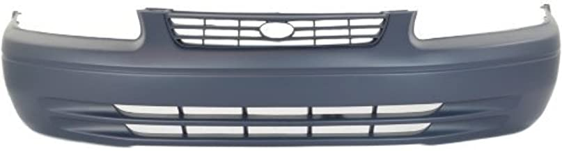 Front Bumper Cover Compatible with 1997-1999 Toyota Camry Primed