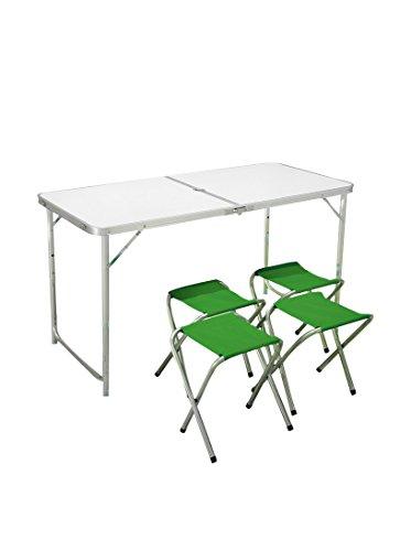 Koffer voor campingtafel. 120 x 60 x 5 cm Wit