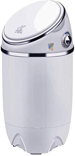 Mini wasmachine Mini Single Barrel Semi-automatische wasmachine, Spoelen en centrifugeren Counter Top wasmachine/droger Electric Small Compact Wasmachine for Apartments Camping Portable wasmachine