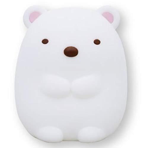 すみっコぐらしのおやすみライト ミニ (しろくま)