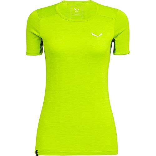SALEWA Puez Graphic 2 Dry Camiseta, BLU (Tendershot Melange), 48 para Mujer