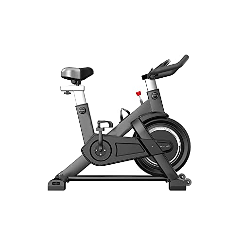 N&W Spinning Bikes Cycling Sports Equipment Home Fitness Equipment Indoor Fitness Ultra-Quiet Large Flywheel Belt Drive Black