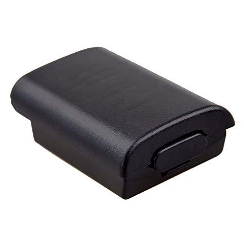 LonleyNine - Copribatteria di ricambio per XBox 360, controllo Wireless AA, colore nero.