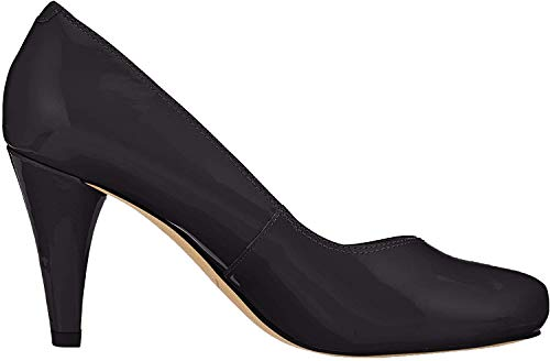 Clarks Damen Dalia Rose Pumps, Schwarz (Black Patent), 40 EU