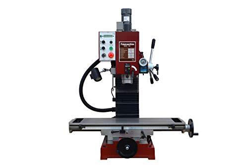 PAULIMOT Bohr-/Fräsmaschine SIEG SX4 mit elektr. Antrieb für die Z-Achse